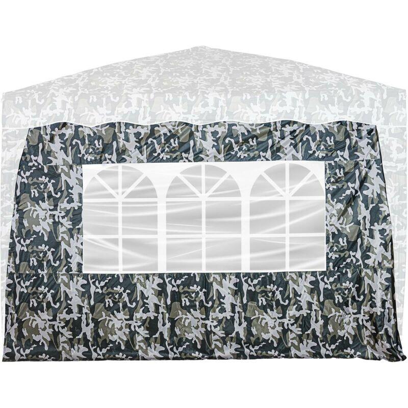 INSTENT® Panneau latéral avec 3 fenêtres, couleur urban
