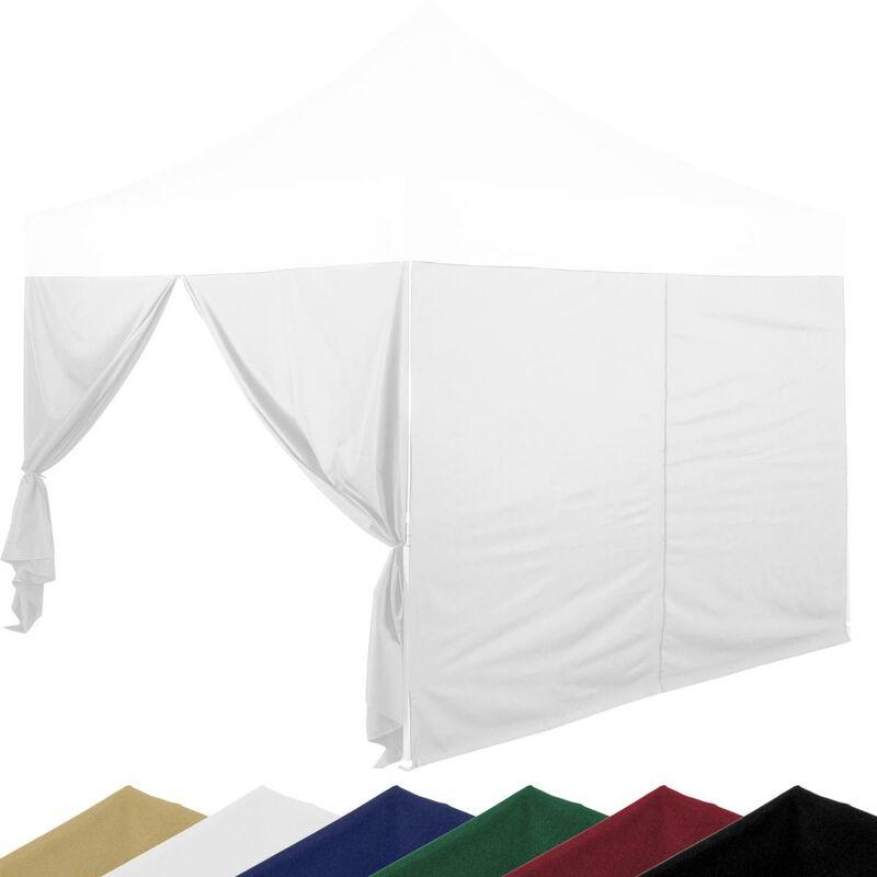 INSTENT® Pro Panneau latéral avec fermeture à glissière, couleur blanc