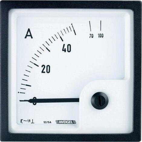 Instrument pour tables de commande avec galvanomètre