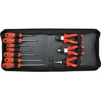 INSULATED SCREWDRIVER & P LIER SET 10-PCE