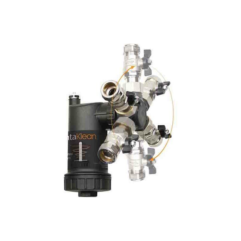 Image of IntaKlean - 28mm Central Heating Magnetic Filter IKMF28 (Like Fernox TF1)