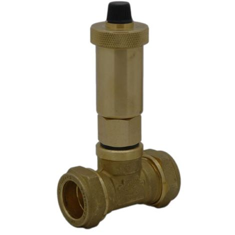 Intatec - iAir Vent Automatic Air Vent Valve & 22mm Tee AAV007