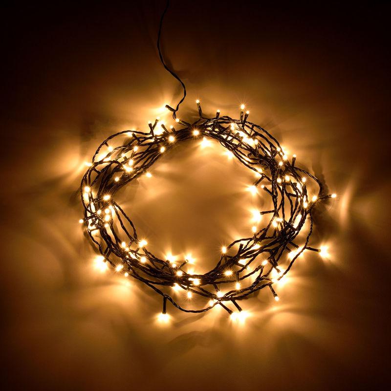 4a15b82f35f  in.tec  Cadena de luces -80 LED (11m) Navidad Fiesta Boda - decoración  para Navidad