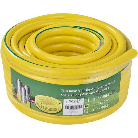 Gartenschlauch Wasserschlauch Premium 3 lagig 25m 1 Zoll Bewässerungsschlauch