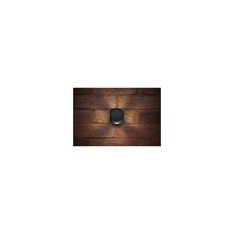 Image of Integral Crosscube - Outdoor LED Wall Light 4-Way IP54 360LM 8W 3000K