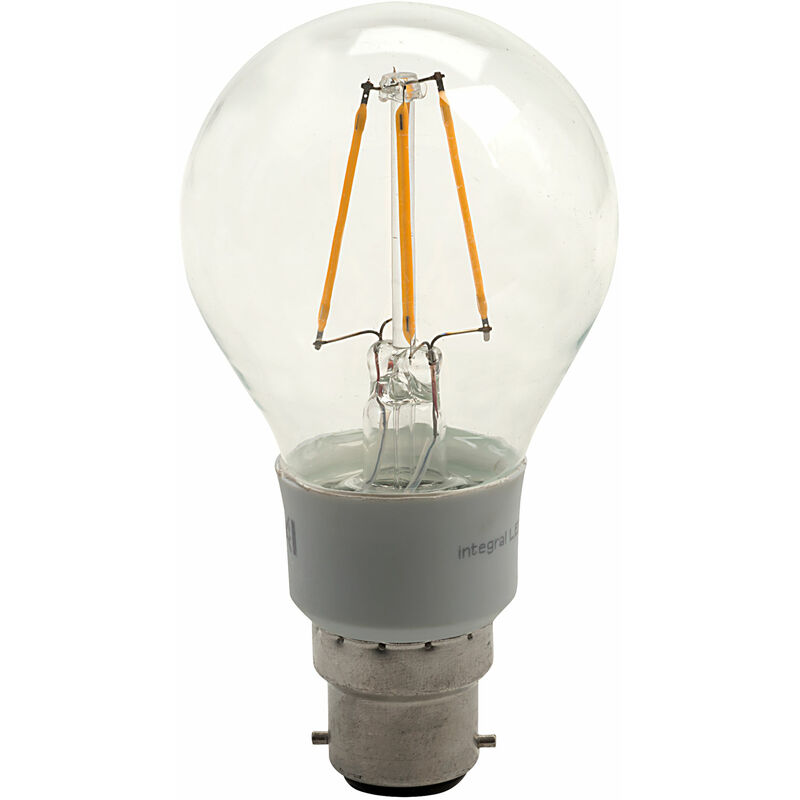 Image of B22 GLS LED Bulb 4.5W (40W) Warm White 2700K 470lm Dimmable - Integral Led