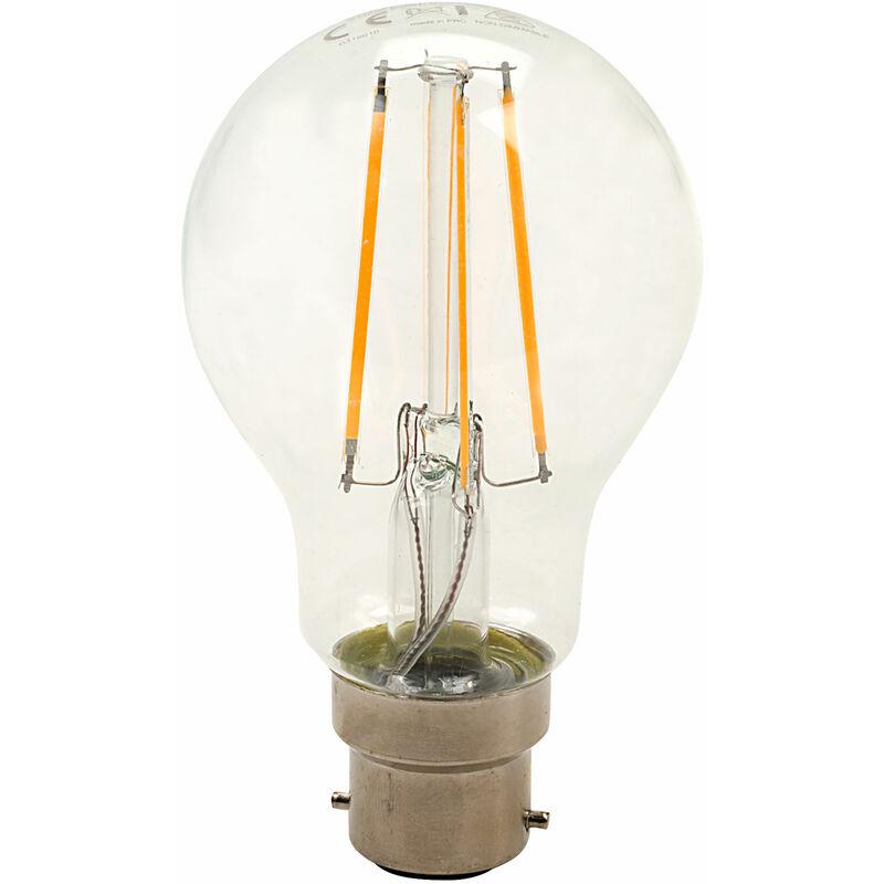 Image of B22 GLS Omni Filament LED Bulb 6W (60W) Warm White 2700K 806lm - Integral Led