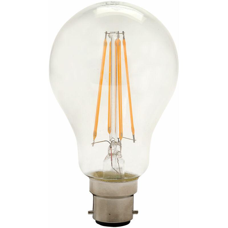 Image of B22 GLS Omni Filament LED Bulb 8W (75W) Warm White 2700K 1055lm - Integral Led