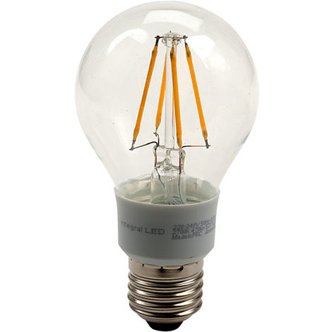 Integral LED E27 GLS LED Bulb 4.5W (40W) Warm White 2700K 470lm Dimmable
