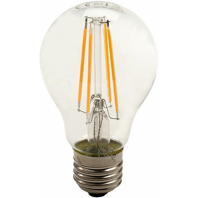 Image of Integral LED E27 GLS Omni Filament LED Bulb 6W (60W) Warm White 2700K 806lm