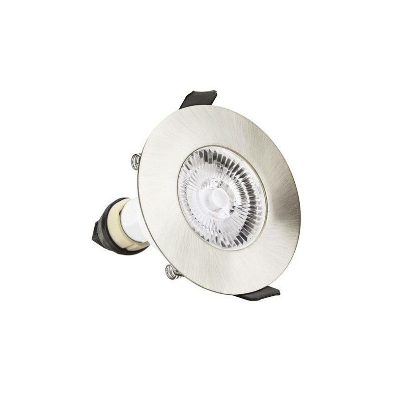 Image of Integral - LED Fire Rated Downlight Recessed Satin Nickel GU10 Holder Satin Nickel IP65 - INTEGRAL LIGHTING