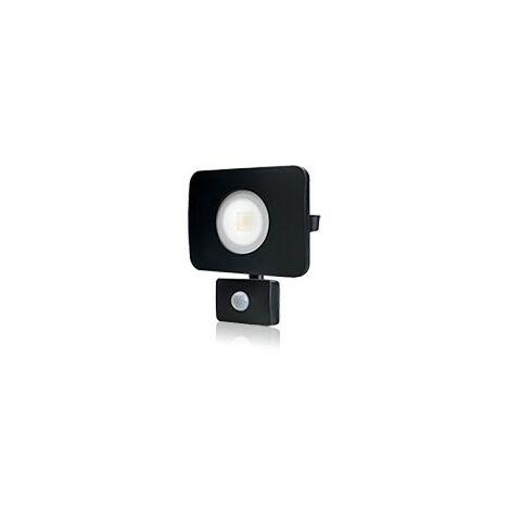 Integral - LED Floodlight 30W 4000K 2700lm PIR Sensor / Override Matt Black IP64