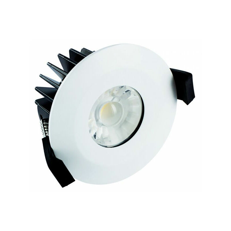 Image of Integral 10W Dimmable Integrated Downlight IP65 Warm White - ILDLFR70B012