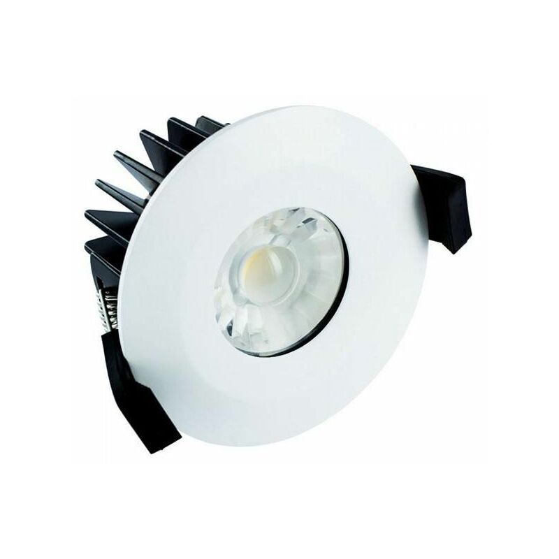Image of Integral 10W Dimmable Integrated Downlight IP65 Cool White - ILDLFR70B013
