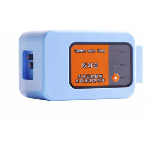 Inteligente de riego autom¨¢tico de dispositivos del m¨®vil remoto del sistema de irrigaci¨®n del temporizador de control con cable de 10m