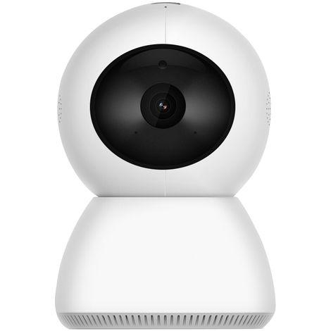 Inteligente PTZ Camaras IP 1920 * 1080P 2MP Wifi cubierta de camara de seguridad inalambrica, blanco