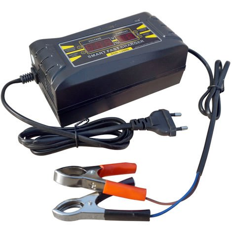 Intelligent 12V 6A Motorcycle Motorbike Battery Charger Automatic Smart Trickle