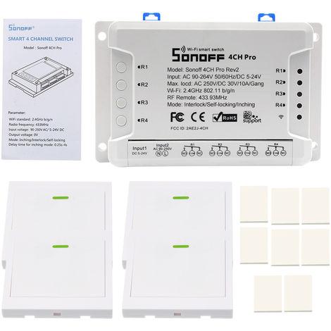 Intelligent Voice Control Switch IM171108006 White 1Pcs