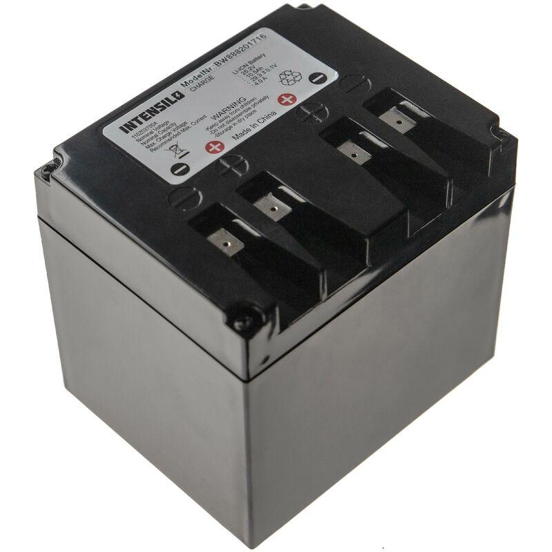 INTENSILO batterie compatible avec Ambrogio L200R, retrò robot tondeuse (10500mAh, 25,2V, Li-ion)