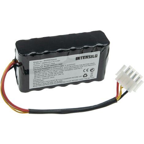 INTENSILO batterie compatible avec Brill roboliner 474011 tondeuse à gazon (6800mAh, 25.9V, Li-ion)