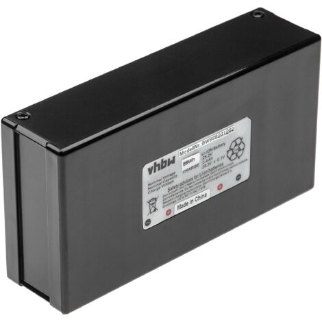 INTENSILO battery compatible with Agro R800Li robotic lawnmower (3400mAh, 25.2V, Li-Ion)