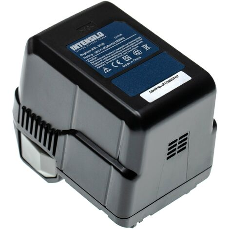 INTENSILO Battery compatible with Hitachi DH 36DAL, DH36DL Electric Power Tools (5000mAh 36V Li-Ion)