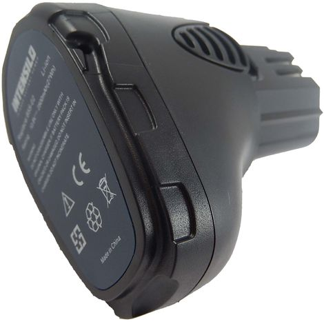 INTENSILO Li-Ion Batería 2500mAh (10.8V) para su herramienta electrónica Dremel 8000-01, 8001-01 por 757-01, 855-02, 855-45.