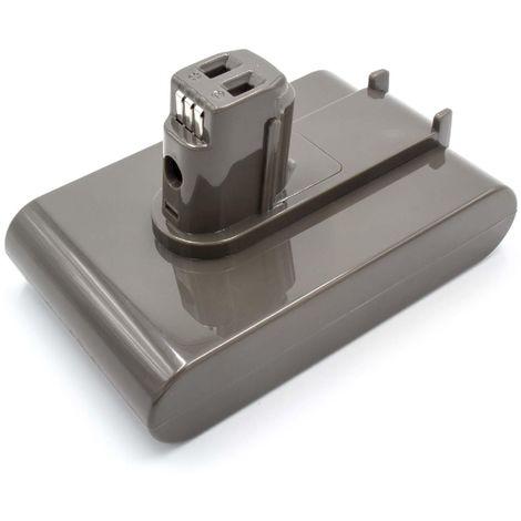 INTENSILO Li-Ion Batterie 2500mAh (22.2V) gris pour aspirateurs Dyson DC56, DC57 comme 202932-02, 917083-01.