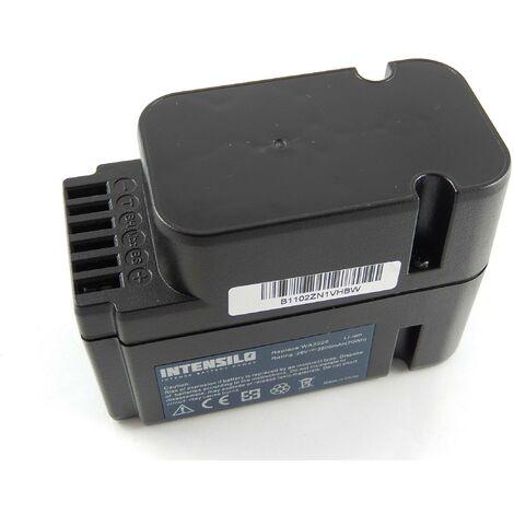 INTENSILO Li-Ion Batterie 2500mAh (28V) pour robot tondeuse Worx Landroid L1500i WG798E, M 500B WG755E, M WG794E, M WG794EDC comme WA3225, WA3565.