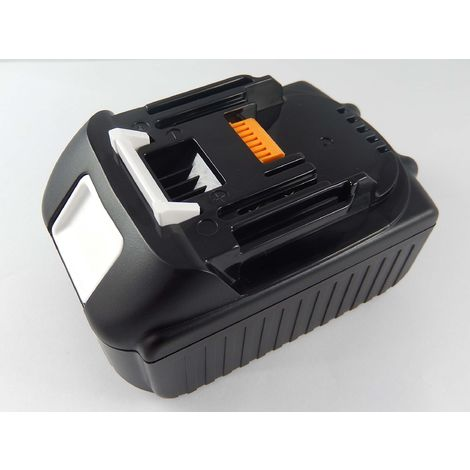 INTENSILO Li-Ion Batterie 2500mAh pour outils électriques Makita BPB180, BPB180F, BPB180Z, BPJ140, BPJ180, BPT351 comme BL1815, 194204-5.