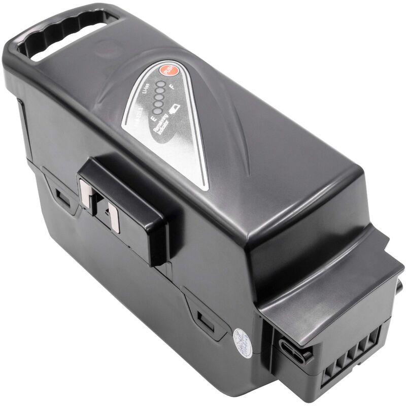 INTENSILO Li-Ion batterie pour Panasonic Flyer C10, C10 HS, C11 HS, C12 HS, C2, C2 Premium, C4 ebike vélo électrique (23200mAh, 26V, Li-Ion, noir)