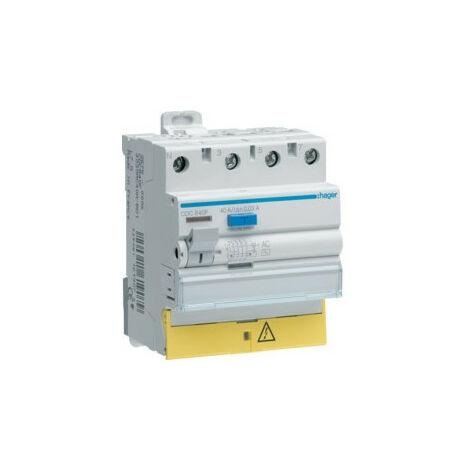 Inter dif 3P+N 63A 100mA AC BD (HAG CEC863F)