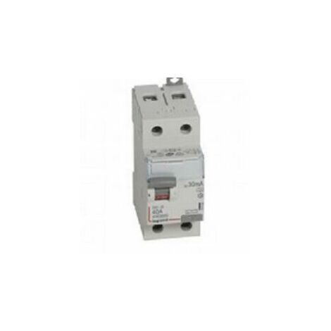 """main image of """"Inter. diff. 40A Bipolaire type A - Vis/Vis - 30ma - 411555 - Legrand"""""""