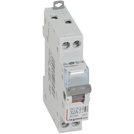 Inter-sectionneur de tête DX³-IS - vis/vis - 2P - 400 V~ - 32 A - 1 M