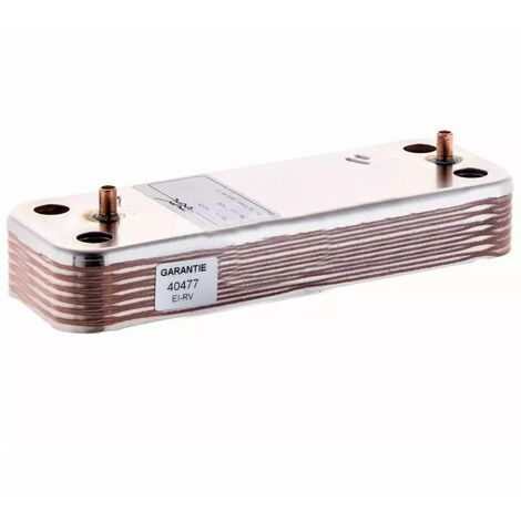 Intercambiador Placas Caldera BAXI ALFA SX5686660 (10 Placas)