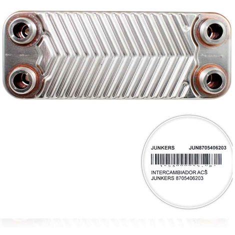 Intercambiador placas caldera Junkers W135 8705406203