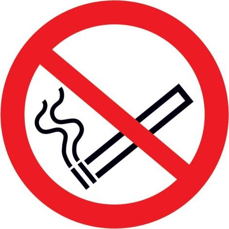 """main image of """"Interdiction de fumer Panneau PVC autocollant"""""""