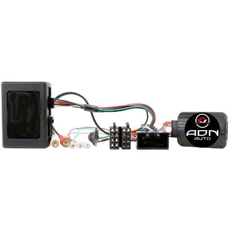 Interface Commande au volant LR9Sony compatible avec Land Rover 05-09 Ampli Fibre