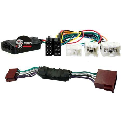 Interface Commande au volant NS020 compatible avec Nissan Avec ampli Bose Centrale seule Generique