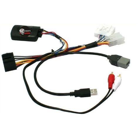 Interface Commande au volant PG16 compatible avec Peugeot 108 ap14 - Sans lead