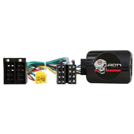 Interface Commande au volant RN004 pour Renault 00-07 Mini-ISO Sans ecran Centrale seule Generique