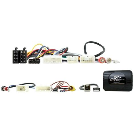 Interface commande au volant TY15P compatible avec Toyota ap11 Camera recul Pioneer Sony