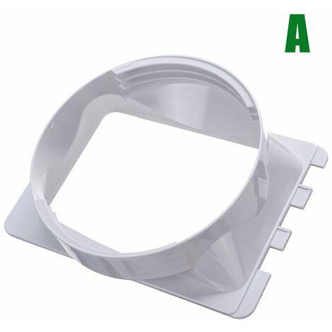 Interfaz de conducto de escape de ventana flexible de 15 cm para aire acondicionado