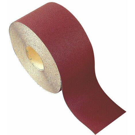 Interflex - Rollo papel lija autoadherente - tipo velcro - óxido de aluminio