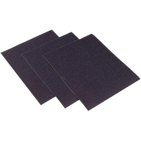 INTERFLEX SWP210C.1500 - Caja de 100 hojas de papel de lija al agua carburo de silicio (grano 1500)