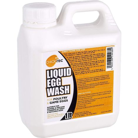 Interhatch Chicktec Liquid Egg Wash (1L) (May Vary)