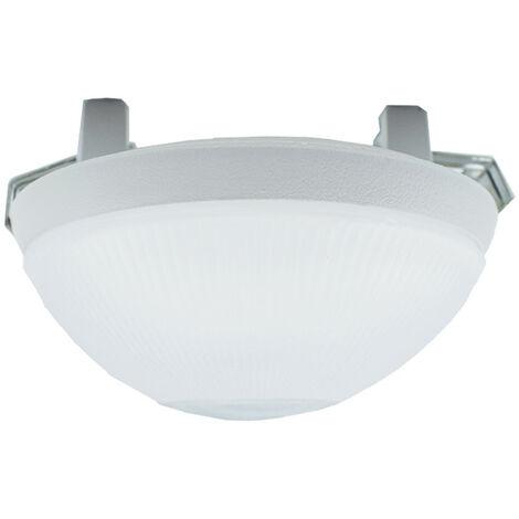 Interior foco empotrado Rehacer ST 200 Marco blanco de vidrio GU10 70202