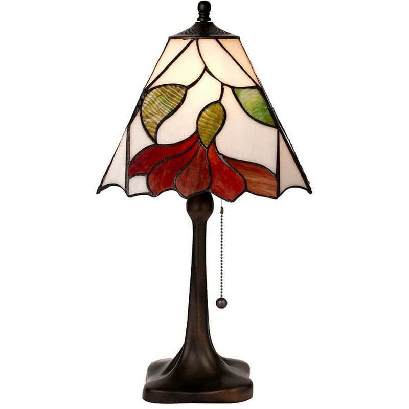 Image of 60W Botanica lamp, glass and resin
