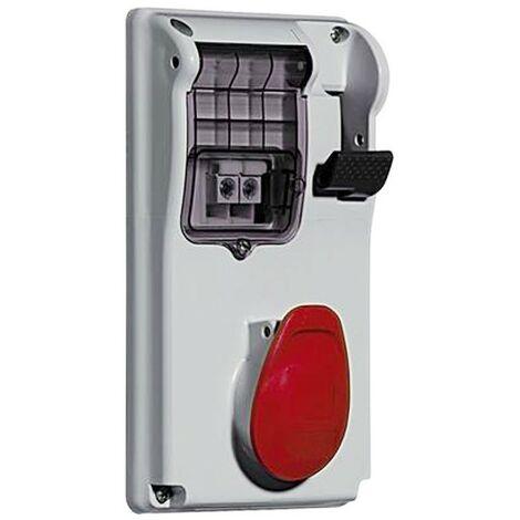 Interlocked-interrupteur prise de courant Legrand compact 3P+N+T 3X32A+NT 400V IP55 057296