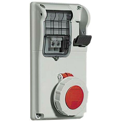 Interlocked-interrupteur prise de courant Legrand compact 3P+T 3X16A+T 400V IP55 057317
